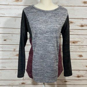 Promesa Color Block Sweater Size Small